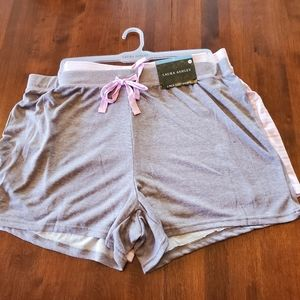 New Laura Ashley super soft pajama shorts plus
